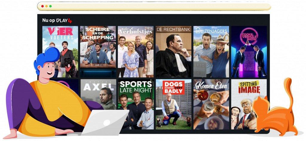 Play4 streamt TV serien