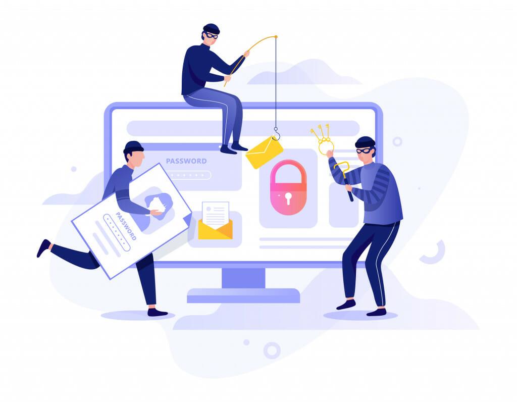 Phishing internet