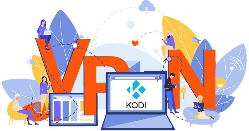 Gebruik een VPN met Kodi om je gegevens te beveiligen