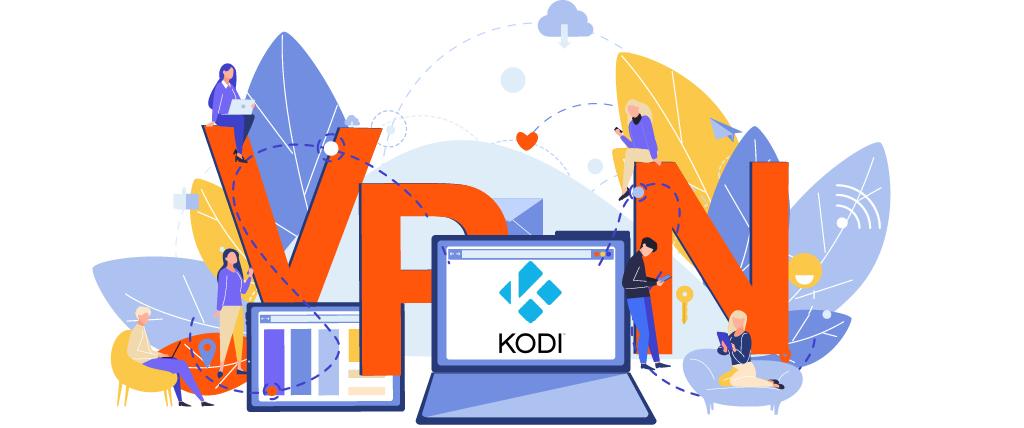 Verwenden Sie ein VPN mit Kodi, um Ihre Daten zu sichern