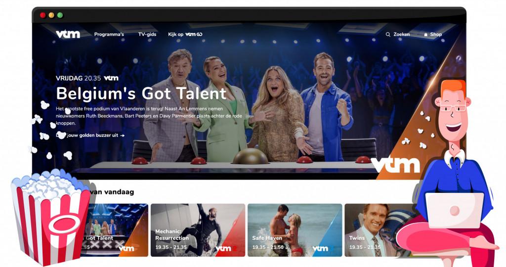 VTM streamingdienst in België