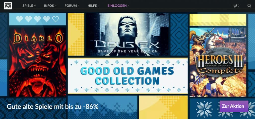 GOG Online-Shop