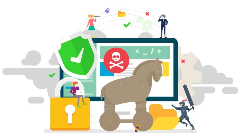 Trojany są ukryte pod postacią nieszkodliwego oprogramowania