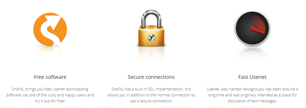SnelNL Usenet Features