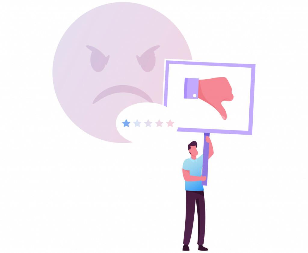 Cattiva assistenza clienti VPN
