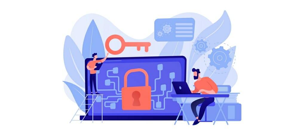 SSL-Verschlüsselung dient zum Schutz der zwischen Ihnen und dem Server ausgetauschten Daten