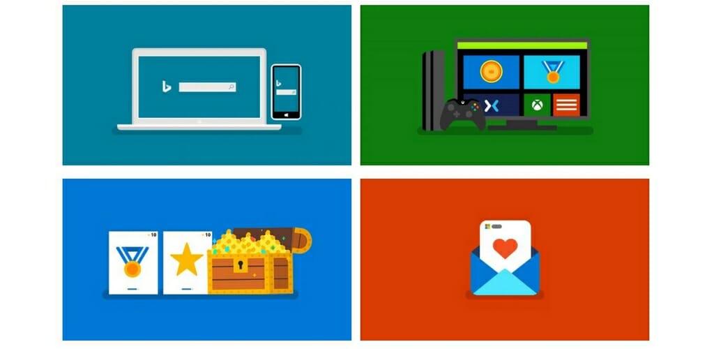 Microsoft Rewards Sposoby zdobywania punktów