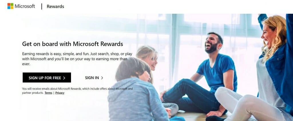 Microsoft Rewards dostępne w USA